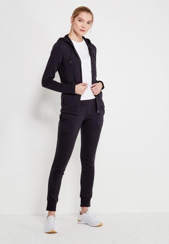 Спортивный костюм PUMA 85021701 Classic Sweat Suit женский, цвет черный,  размер 46-48 7879889ab43