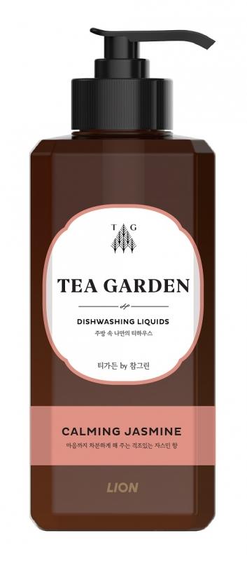 LION Средство для мытья посуды Chamgreen Tea Garden