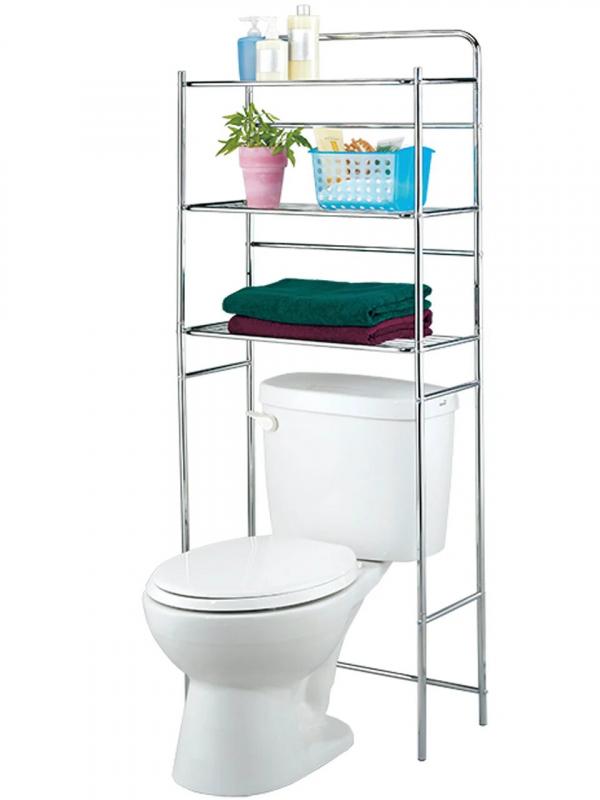 Стеллаж для ванной комнаты и туалета UNISTOR CODY 3-х ярусный — купить в интернет-магазине ОНЛАЙН ТРЕЙД.РУ