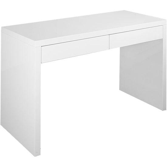 Компьютерный стол белый глянец  спб