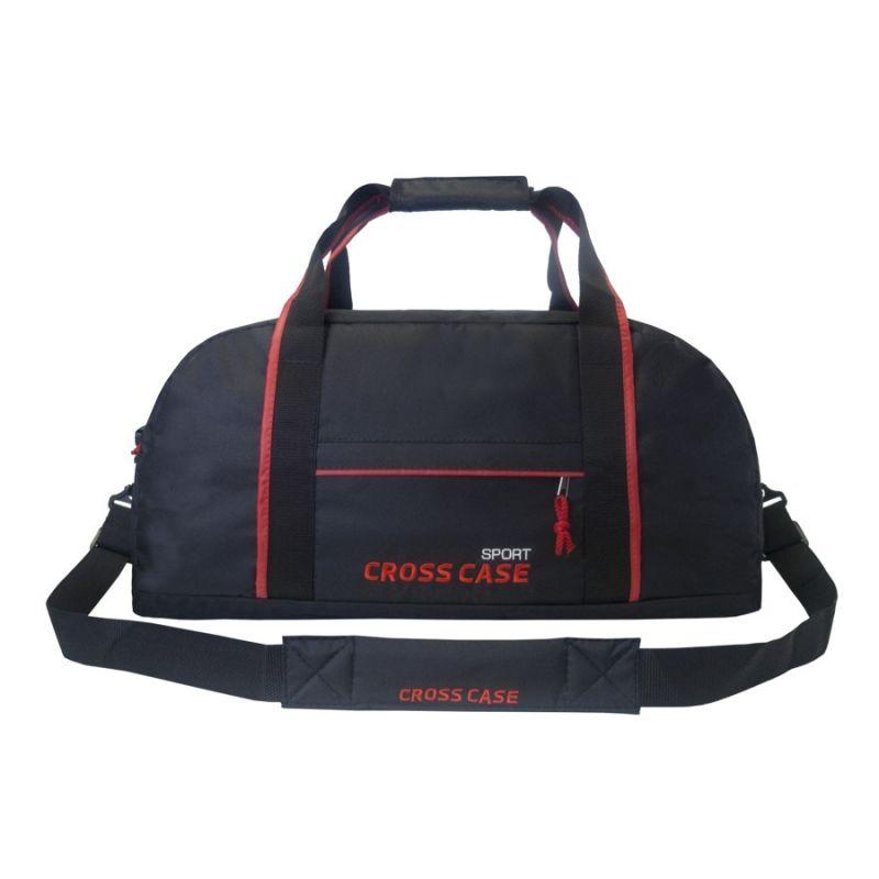 f0cd1b7003da Сумка спортивная Cross Case CCS-1040-01, чёрно-красная. Код товара:  1557392. - купить в интернет магазине с доставкой, цены, описание,  характеристики, ...