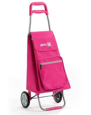 Сумка-тележка GIMI Argo (розовый) - купить в интернет магазине с...