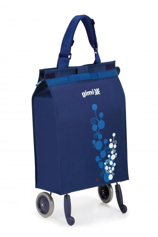 0df62f9b1662 Сумка-тележка GIMI BELLA, синяя — купить в интернет-магазине ОНЛАЙН ...