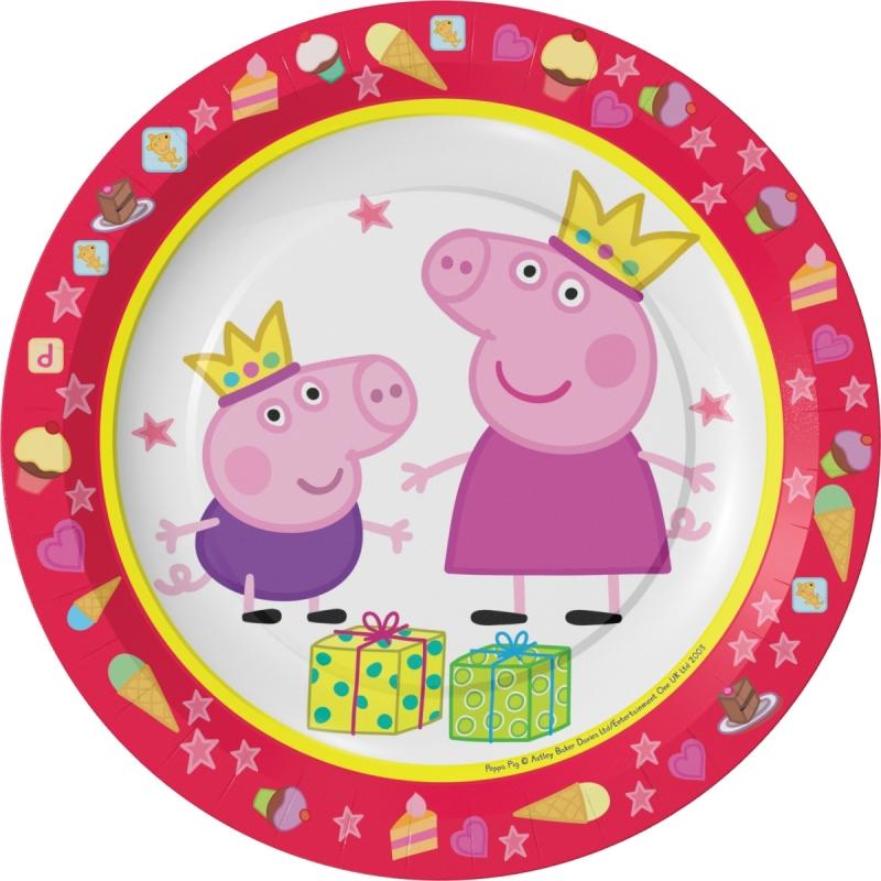 Надписью, свинка пеппа с днем рождения картинки круглые
