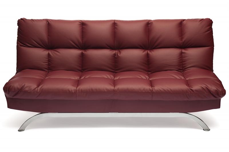 диван кровать Amerillo кожзам бордо купить в интернет