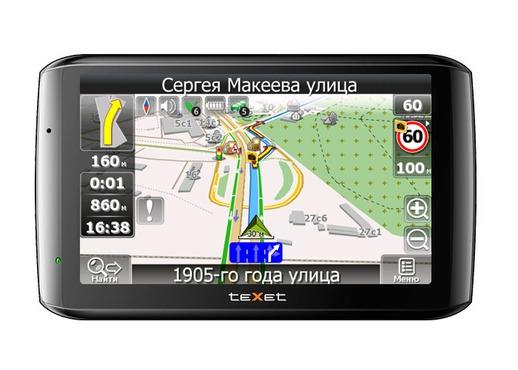GPS-���������� TEXET � ������ GPS-��������� Texet (������), ����, ������. ������� GPS-����������� � ��������-�������� ���������.