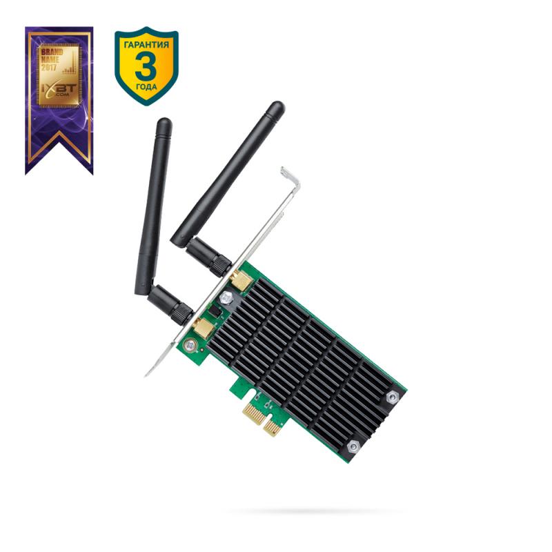 Двухдиапазонный Wi-Fi адаптер TP-LINK Archer T4E — купить в интернет-магазине ОНЛАЙН ТРЕЙД.РУ