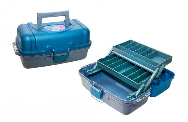 Ящик рыболовный ЯР-2 (370х190х180) 2 лотка Три кита 0021764 - купить по выгодной цене в интернет-магазине ОНЛАЙН ТРЕЙД.РУ Орёл