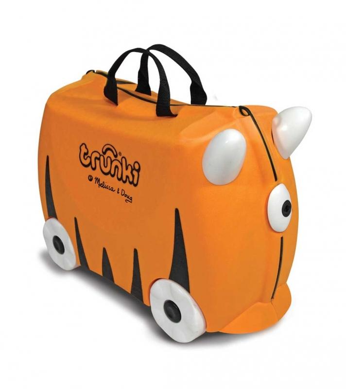 9a57e0d9f012 Чемодан на колесиках Тигр TRUNKI Изображение 1 - купить в интернет магазине  с доставкой, цены