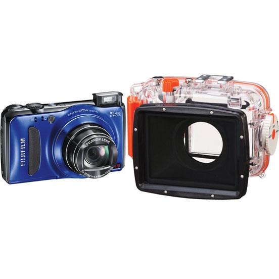 Цифровой фотоаппарат fujifilm finepix f500exr blue