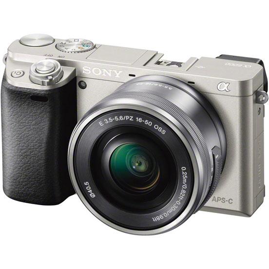 Фотоаппарат Sony Alpha A5100 Kit 16-50 mm F/3.5-5.6 E OSS PZ White