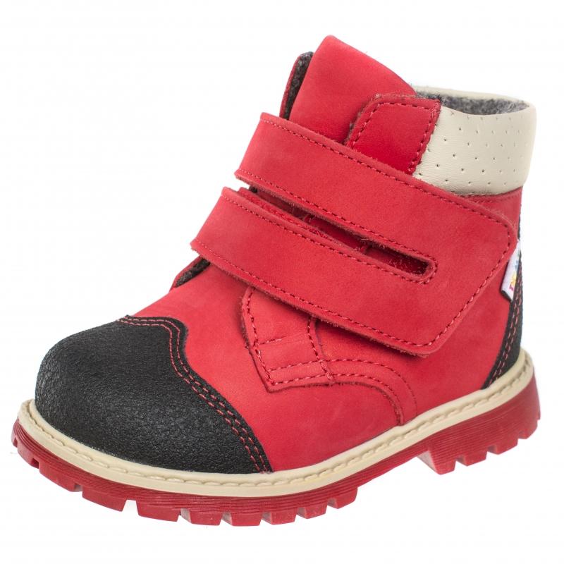 3cc46cd2d Ботинки детские ортопедические TWIKI TW-320-5 красный, размер 30 ...