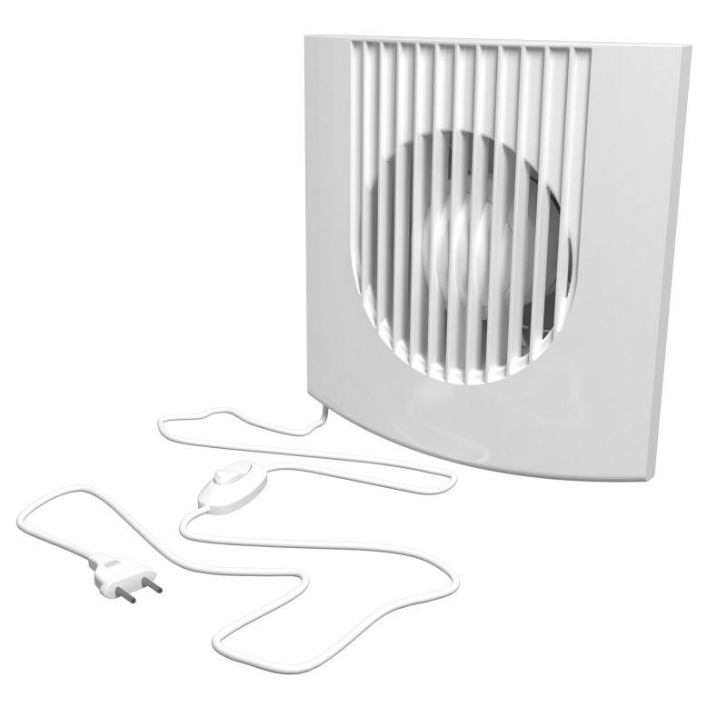 Вытяжной вентилятор с сетевым кабелем и выключателем ERA FAVORITE 5-01 — купить в интернет-магазине ОНЛАЙН ТРЕЙД.РУ