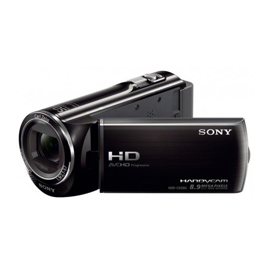 Видеокамеры| Предварительный обзор Sony HDR-CX280E Black | ROZETKA