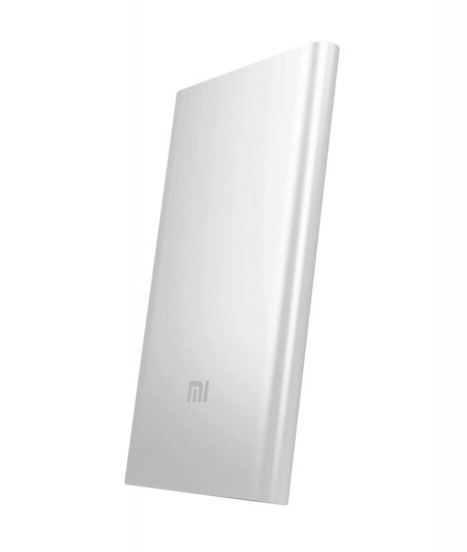 внешний аккумулятор Xiaomi Mi Power Bank 5000 Mah алюминий