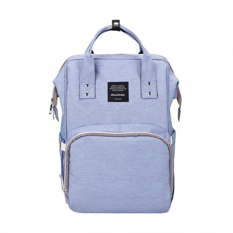 c55dbfa0bb96 Рюкзак для мамы YRBAN ABOUT BABY Level Y, голубой Изображение 1 - купить в  интернет