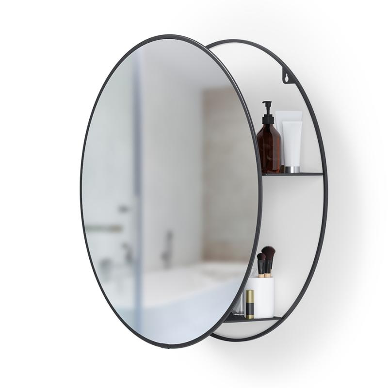 Зеркало настенное Umbra Cirko чёрное, 50 см — купить в интернет-магазине ОНЛАЙН ТРЕЙД.РУ