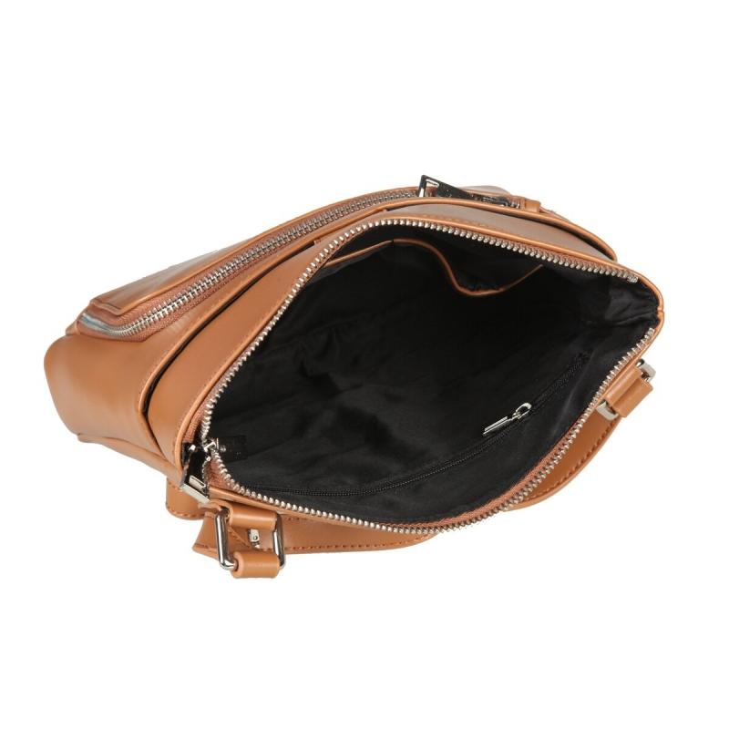 147d3c08b6c5 Женская сумка SERGIO BELOTTI 648 brown, светло-коричневый Изображение 5 -  купить в интернет