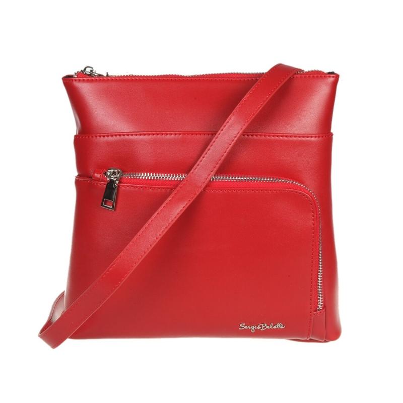 cbcbf535a738 Женская сумка SERGIO BELOTTI 648 red, красный Изображение 1 - купить в интернет  магазине с
