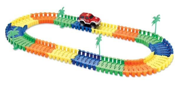 """Гибкий авто-трек 1 toy """"Большое путешествие"""" 101 дет. - Изображение 1"""