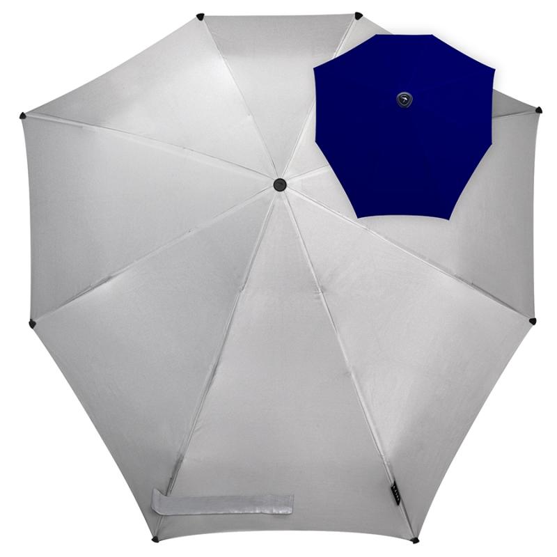 701040f44057 Зонт противоштормовый SENZ 1021072 Metallic Future Изображение 1 - купить в  интернет магазине с доставкой,