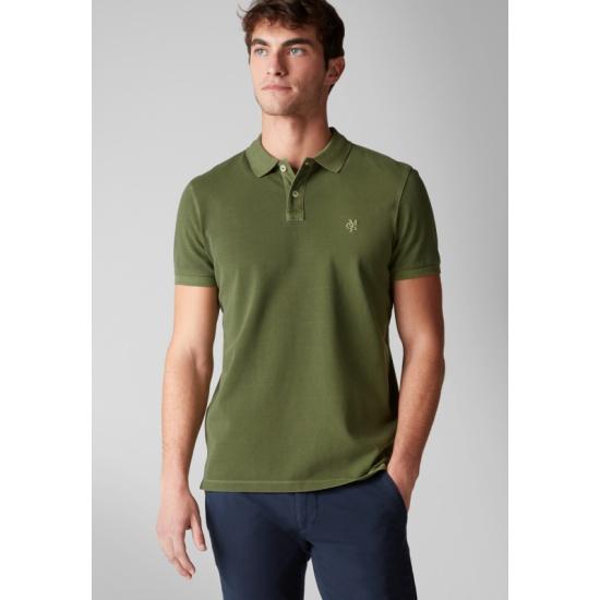 00a55a20b0d4e Поло Marc O'Polo 226653024-440 мужское, цвет зеленый, размер M ...