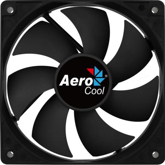 Вентилятор для корпуса Aerocool Force 12 PWM 120mm 4718009158016 Black — купить в интернет-магазине ОНЛАЙН ТРЕЙД.РУ
