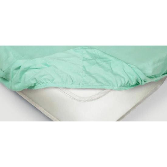 Простынь на резинке Ecotex трикотажная, ментоловый, 160x200x20 — купить в интернет-магазине ОНЛАЙН ТРЕЙД.РУ