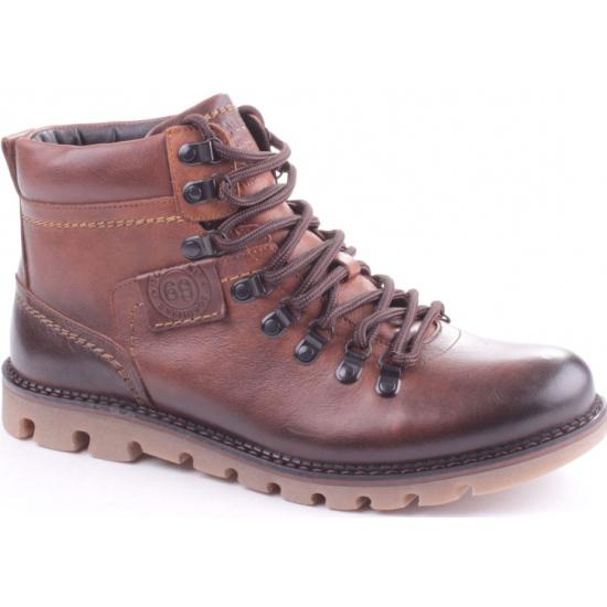 Ботинки iD! collection 698966-01-02M мужские, цвет коричневый, рус. размер 43