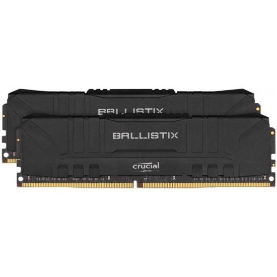 Оперативная память Crucial DDR4 16Gb (2x8Gb) 3000 Mhz pc- 24000 Ballistix Black BL2K8G30C15U4B- купить по выгодной цене в интернет-магазине ОНЛАЙН ТРЕЙД.РУ Пенза