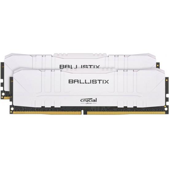 Оперативная память Crucial DDR4 16Gb (2x8Gb) 3000 Mhz pc- 24000 Ballistix White BL2K8G30C15U4W- низкая цена, доставка или самовывоз по Самаре. Оперативная память Crucial DDR4 16Gb (2x8Gb) 3000 Mhz pc- 24000 Ballistix White BL2K8G30C15U4W купить в интернет магазине ОНЛАЙН ТРЕЙД.РУ.