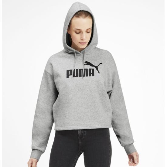 Худи PUMA ELEVATED ESS 58015304 женская, цвет серый, размер XXS 58015304/XXS - купить по выгодной цене в интернет-магазине ОНЛАЙН ТРЕЙД.РУ Санкт-Петербург