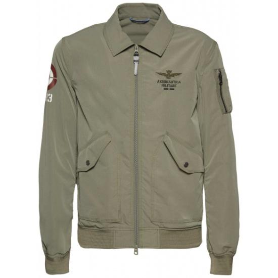 Куртка AERONAUTICA MILITARE 201AB1845CT2626-07226 мужская, цвет зелёный, размер 54 201AB1845CT2626-07226/54 - низкая цена, доставка или самовывоз по Челябинску. Куртка AERONAUTICA MILITARE 201AB1845CT2626-07226 мужская, цвет зелёный, размер 54 купить в интернет магазине ОНЛАЙН ТРЕЙД.РУ