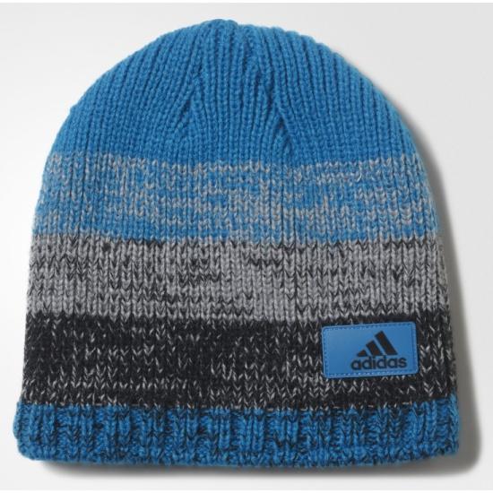 new product 3b168 3c661 Шапка ADIDAS CLMHT FADE BEAN AY8472 унисекс, цвет синий, размер 60-62 (