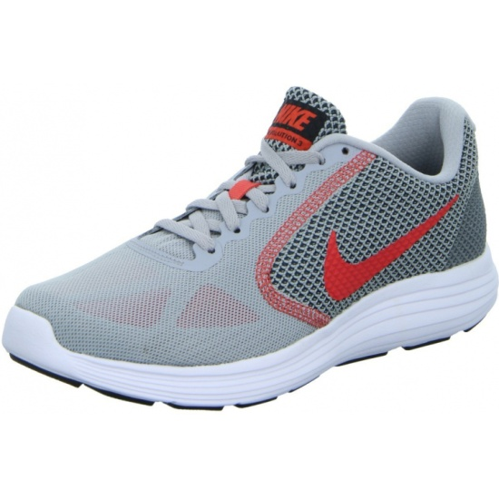 ... Кроссовки Nike Revolution 3 819300-011 мужские, цвет серый, рус. размер  40 ... d243b07a309
