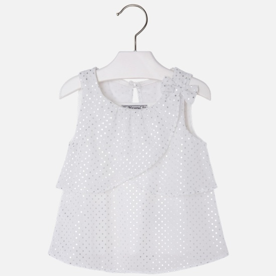 Купить белую блузку для девочки 8 лет