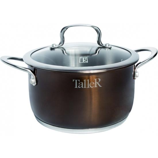 Кастрюля TalleR TR-17294 Брауни, 24 см, 6 л — купить в интернет-магазине ОНЛАЙН ТРЕЙД.РУ