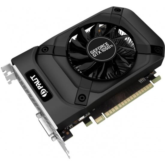 Видеокарта Palit GeForce GTX 1050 Ti StormX 1290Mhz PCI-E 3.0 4096Mb 7000Mhz 128 bit HDMI DVI DisplayPort OEM (NE5105T018G1-1070F BULK)- купить в интернет-магазине ОНЛАЙН ТРЕЙД.РУ в Чебоксарах.