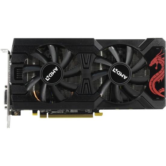 Видеокарта PowerColor Radeon RX 570 1105Mhz PCI-E 3.0 8192Mb 7000Mhz 256 bit DVI HDCP Red Dragon (AXRX 570 8GBD5-DMV3) White Box — купить в интернет-магазине ОНЛАЙН ТРЕЙД.РУ