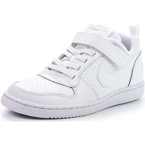 aa647099 Кроссовки NIKE 870025-100 Court Borough Low (PSV) для мальчика, цвет белый