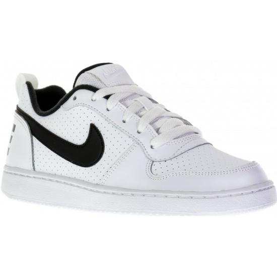 4f9d0c78 Кроссовки NIKE 839985-101 Court Borough Low (GS) для мальчика, цвет белый