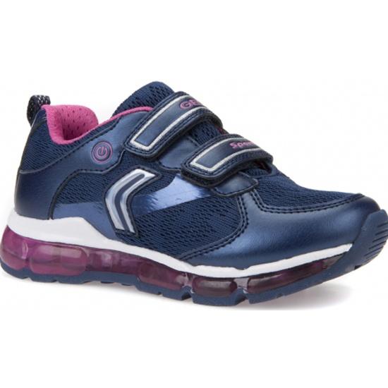 Кроссовки GEOX J8245A014AJC4268 для девочки, цвет темно-синий, рус.размер 33 89a2b0106a4