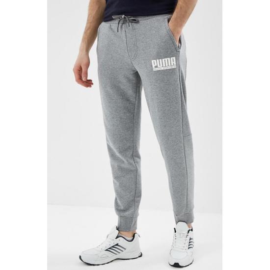 3685c56d Брюки PUMA 85004603 STYLE Athletics Pants TR cl мужские, цвет серый, размер  48-