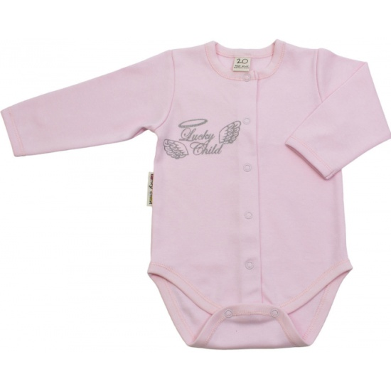 20e8dc707bff Боди Lucky Child детский 17-6 , для девочки, цвет розовый, размер 74 ...