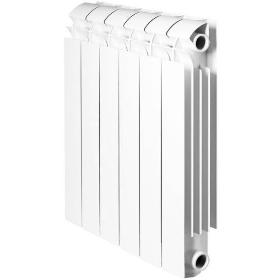Радиатор Global VOX- R 500 14 секций алюминиевый боковое подключение (белый RAL 9010) VX05001014 - купить по выгодной цене в интернет-магазине ОНЛАЙН ТРЕЙД.РУ Санкт-Петербург