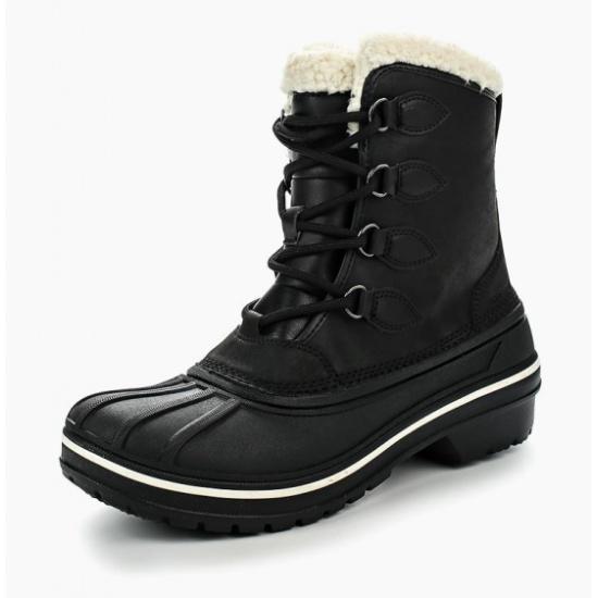 Ботинки Crocs 203430-001-W10 женские, цвет черный, рус. размер 40 — купить в интернет-магазине ОНЛАЙН ТРЕЙД.РУ