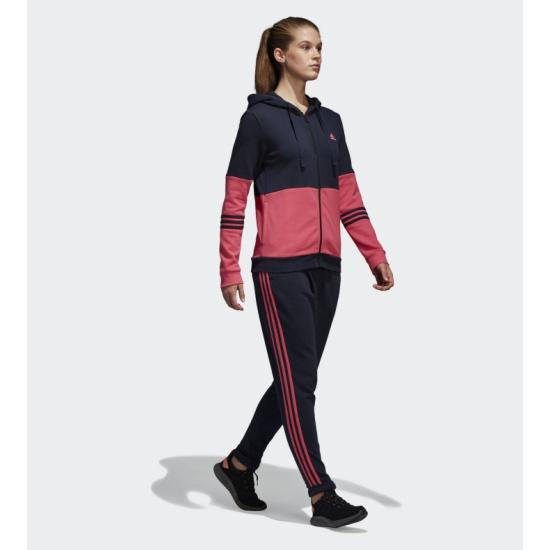 Спортивный костюм Adidas CW4181 WTS CO ENERGIZE LEGEND INK F18 женский, цвет темно-синий/розовый, размер 42-44 — купить в интернет-магазине ОНЛАЙН ТРЕЙД.РУ
