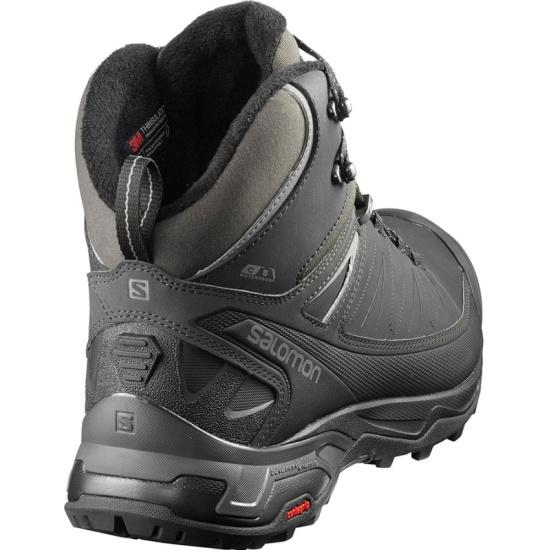 ... Ботинки Salomon X ULTRA MID WINTER CS WP Bk PHAN мужские, цвет черный, a9fb7fd3ebd