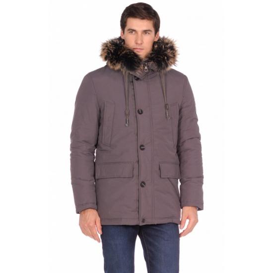 Куртка BAON B538537 мужская, цвет серый, размер S (46) — купить в интернет-магазине ОНЛАЙН ТРЕЙД.РУ