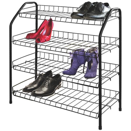 8697fa01fba8 Этажерка для обуви НИКА 4 полки (медный) — купить в интернет ...